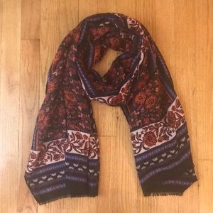 Old Navy lightweight printed scarf for women NWOT